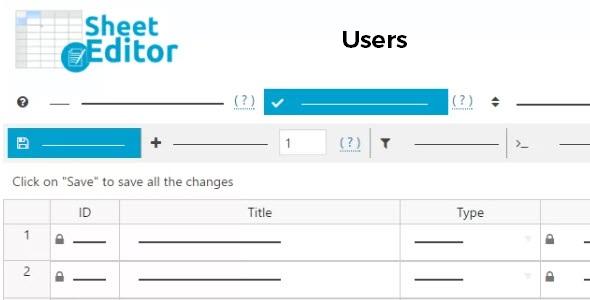 Wp Sheet Editor Users 1 4 1 Premium Wordpress And Woocommerce Plugins And Themes Premium Gpl